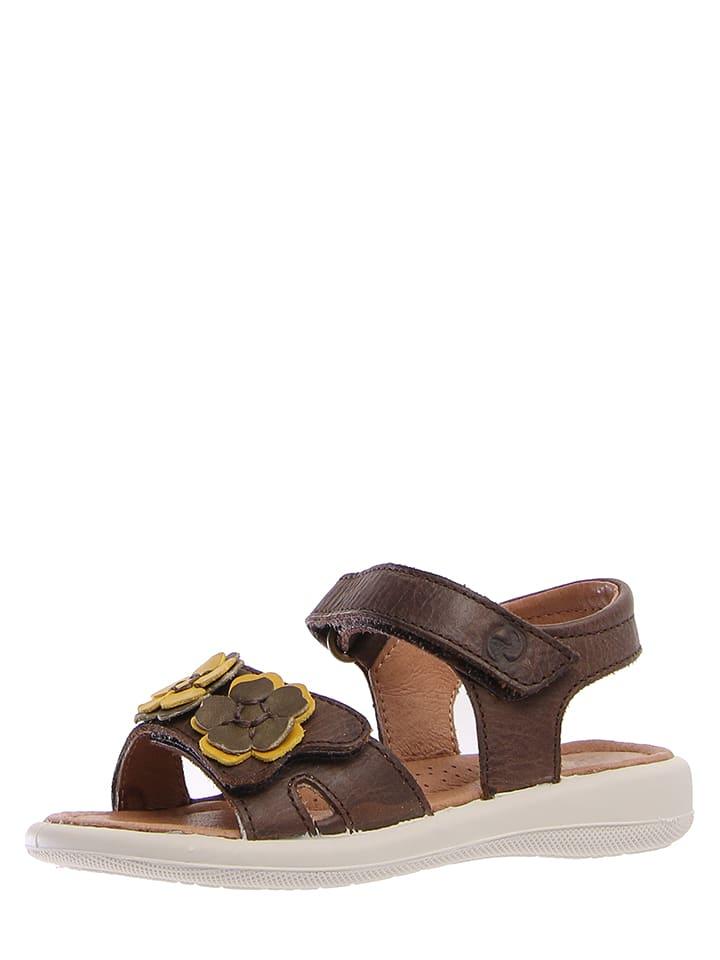 """Naturino Skórzane sandały """"6056"""" w kolorze brązowym"""