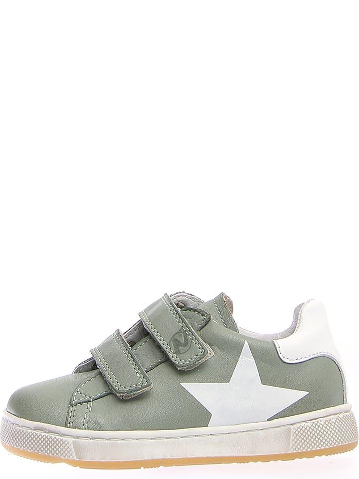 "Naturino Leder-Sneakers ""5277"" in Grün"