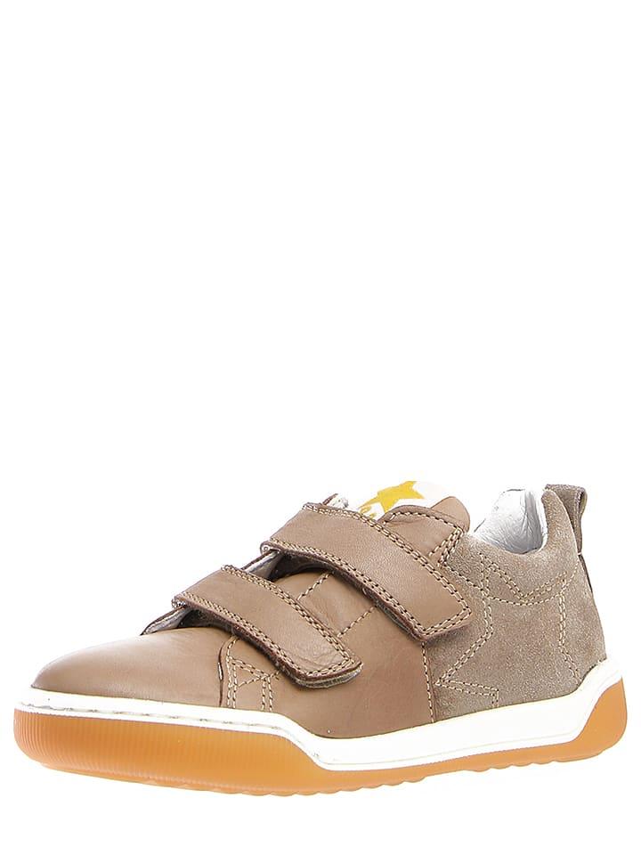 """Naturino Skórzane sneakersy """"Khenri"""" w kolorze jasnobrązowym"""