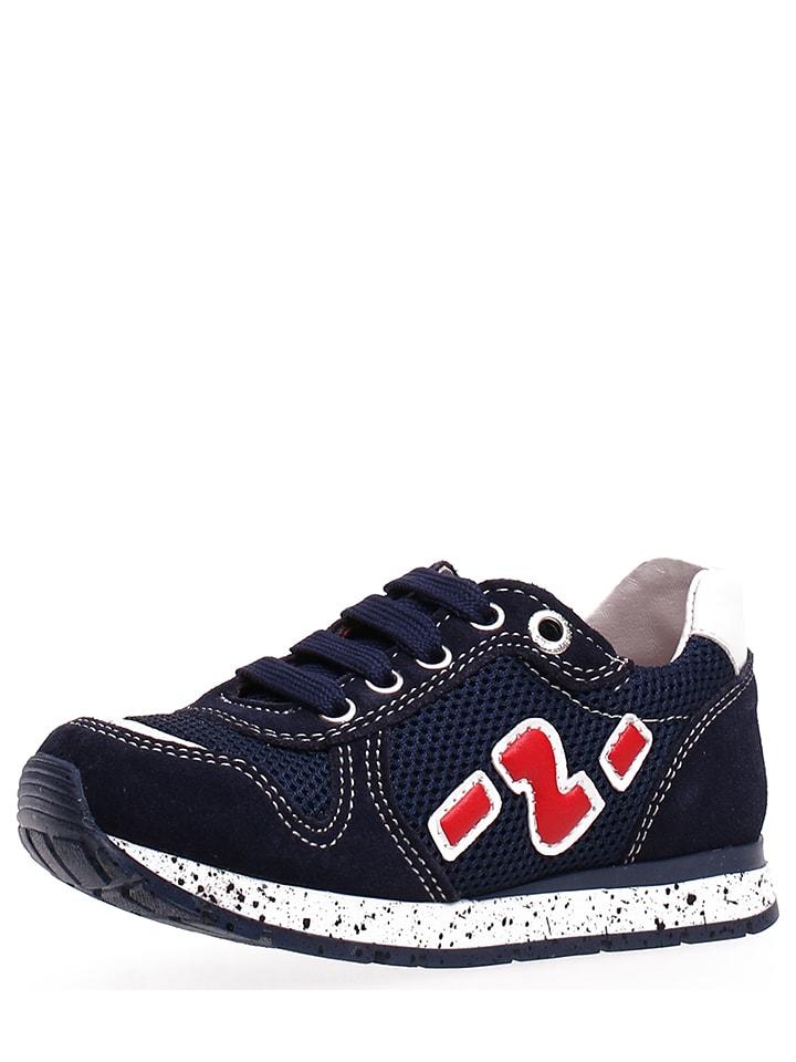 """Naturino Sneakersy """"Bomba"""" w kolorze granatowym"""
