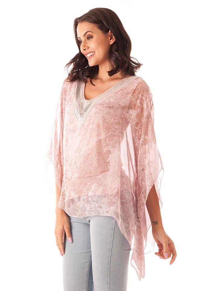 223fb411a317 Silk Factory - Seiden-Shirt in Rosa   limango Outlet