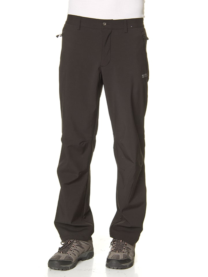 "Regatta Pantalon softshell ""Geo II - Long"" - noir"