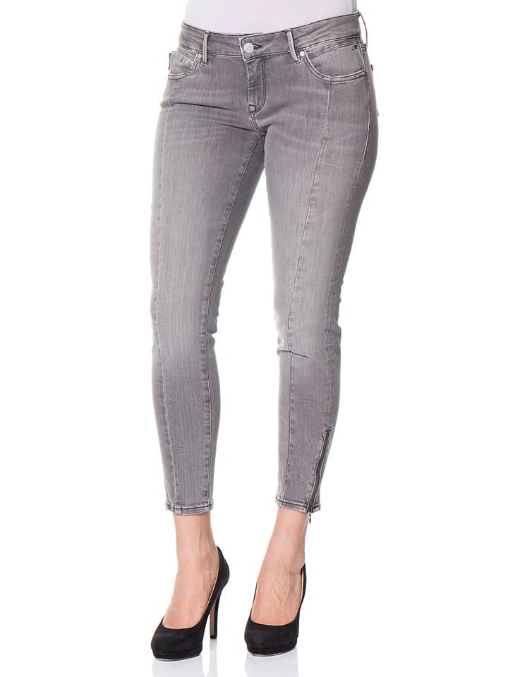 """Mavi Jeans Spijkerbroek """"Serenity"""" - super skinny - grijs"""