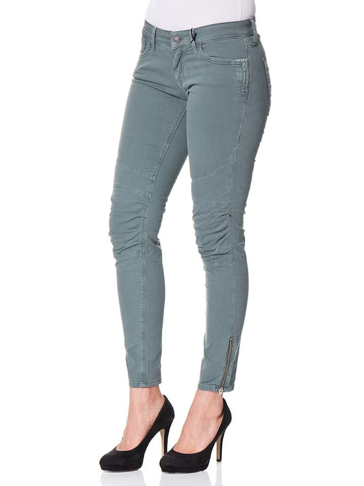 """Mavi Jeans Dżinsy """"Jesy"""" - Skinny fit - w kolorze oliwkowym"""