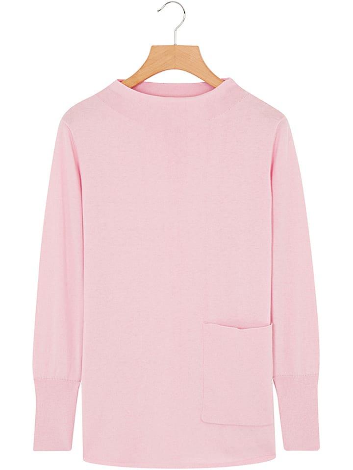 Rodier Sweter w kolorze jasnoróżowym