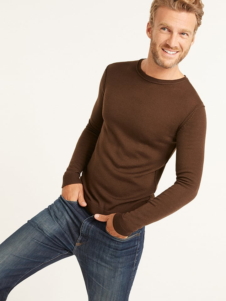 buy online eebce 371e7 Rodier - Pullover in Braun | limango Outlet