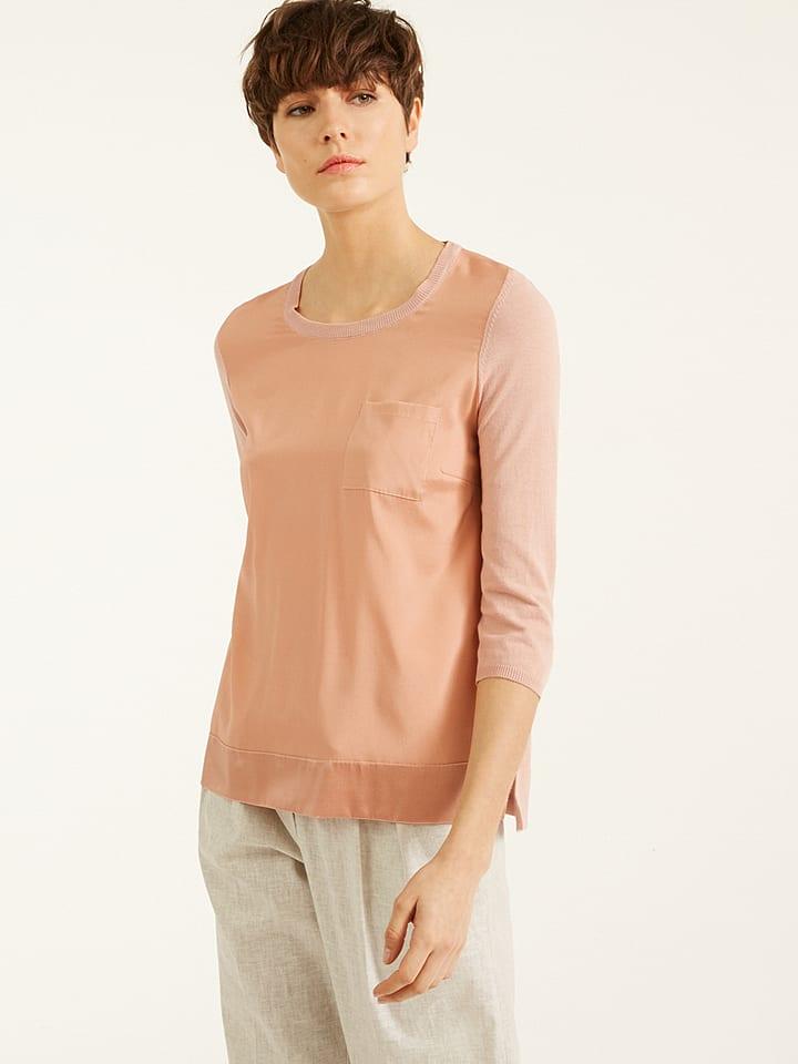 Rodier Koszulka w kolorze brzoskwiniowym