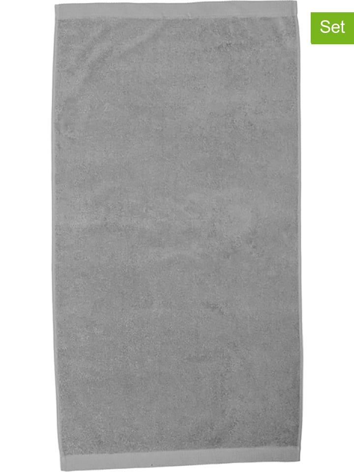 HNL 2-delige set: strandlakens grijs