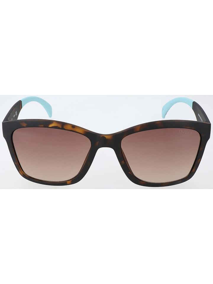 6dd2da2a96204e Guess - Herren-Sonnenbrille in Braun/ Lila   limango Outlet