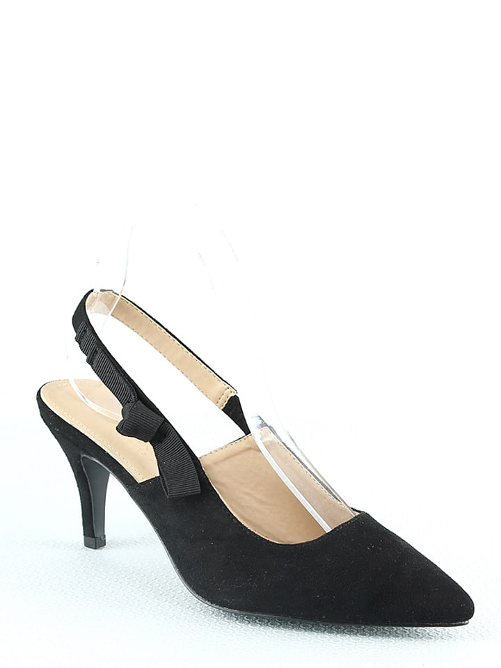 Sixth Sens Slingpumps in Schwarz