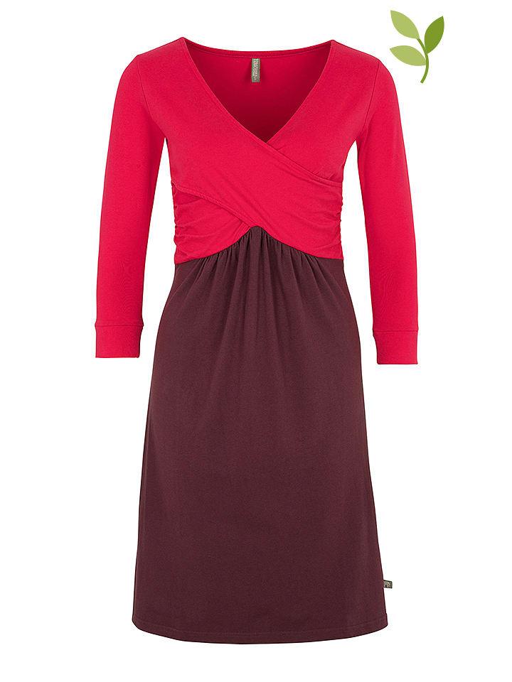 """Tranquillo Sukienka """"Jeanie"""" w kolorze różowo-fioletowym"""