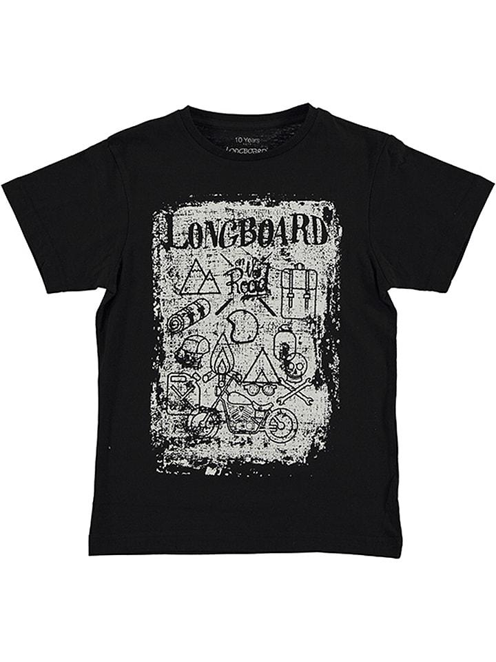 Longboard Koszulka w kolorze czarnym