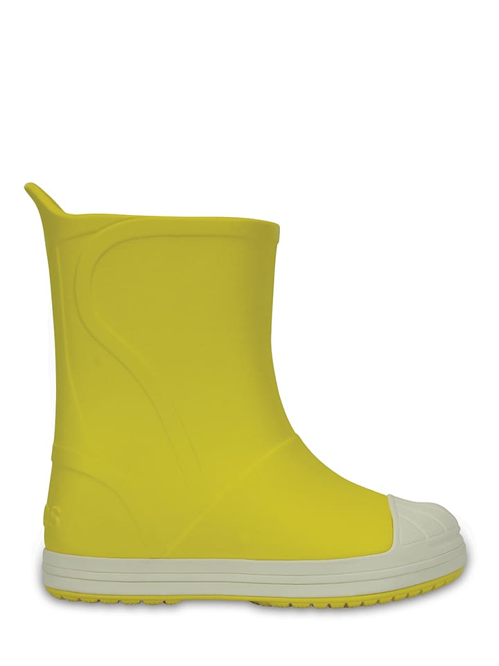 "Crocs Rubberlaarzen ""Bump It"" geel"