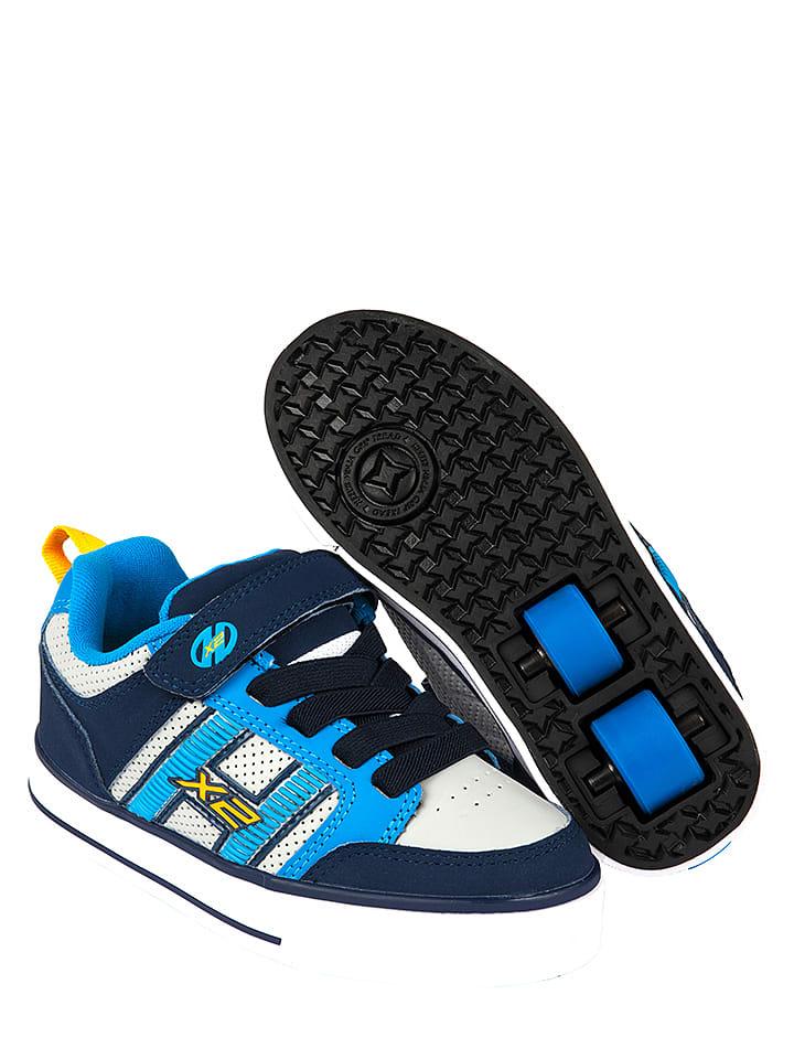 "Heelys Rollschuhe ""Bolt Plus"" in Weiß/ Dunkelblau/ Blau"