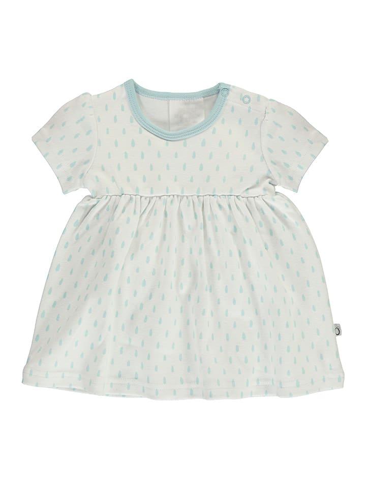 Lamino Sukienka w kolorze błękitno-białym
