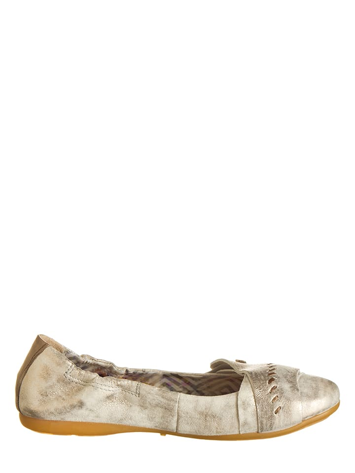 Kern In Otto Leder ballerinas Beige