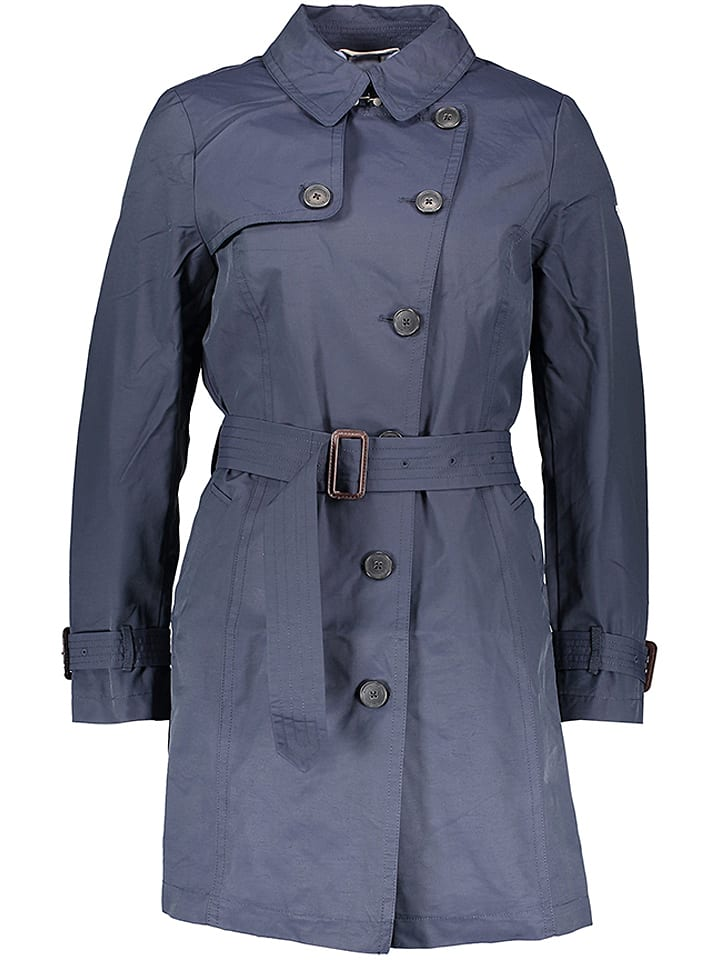 "Tom Tailor Trenchcoat ""Springtime Trench"" donkerblauw"
