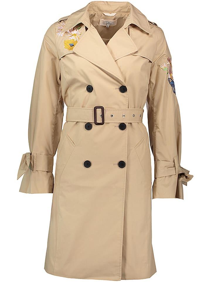 Tom Tailor Trenchcoat beige