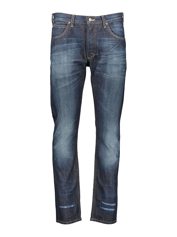 """Lee Spijkerbroek """"Rider"""" - straight fit - donkerblauw"""