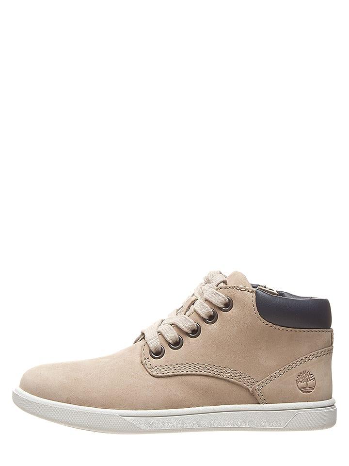 "Timberland Leren boots ""Groveton"" beige"