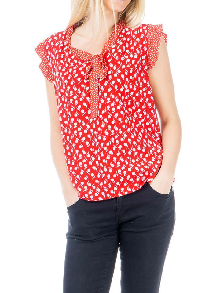 Ayfee Koszula w kolorze czerwonym