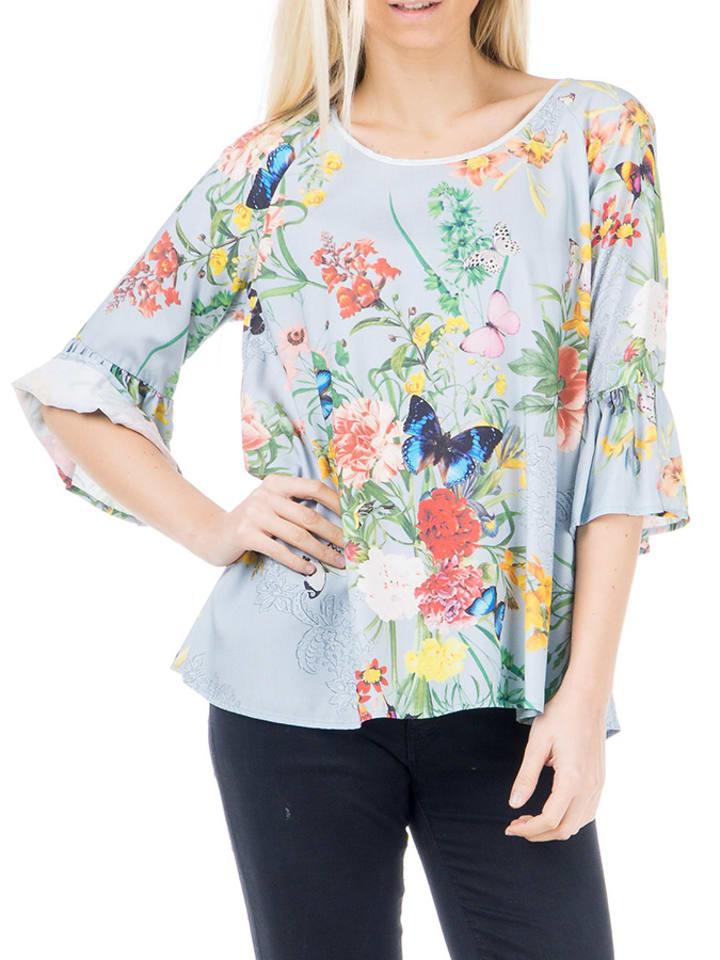 Ayfee Koszula w kolorze niebieskim