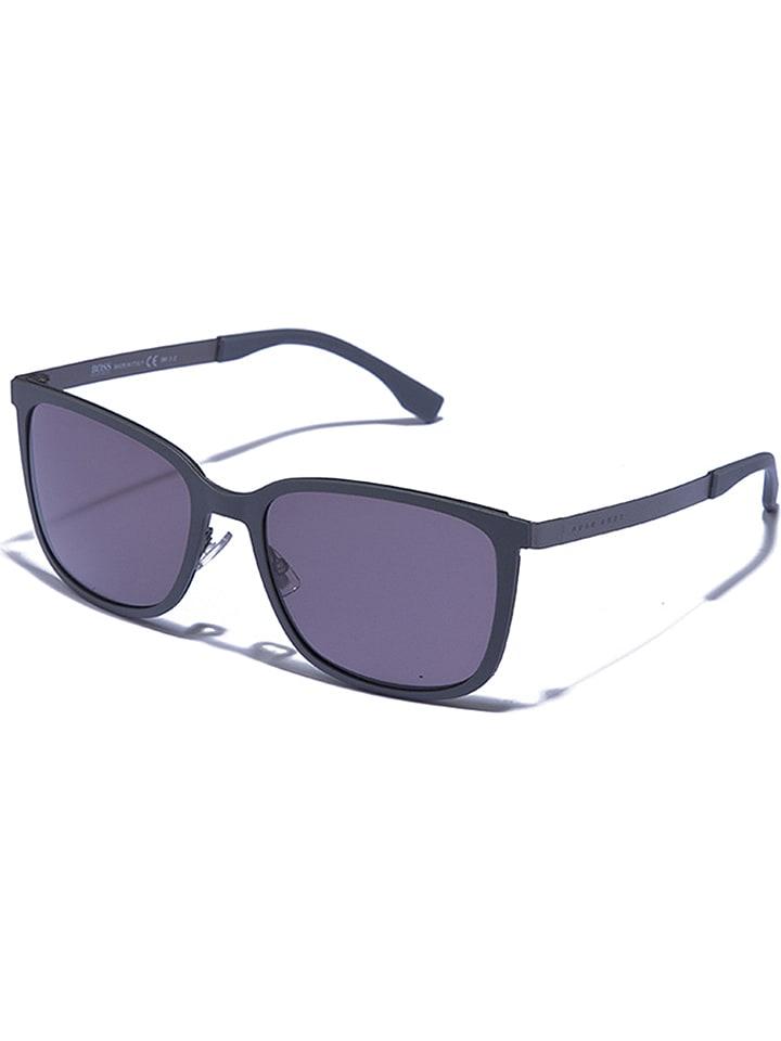 Hugo Boss Okulary unisex w kolorze szarym