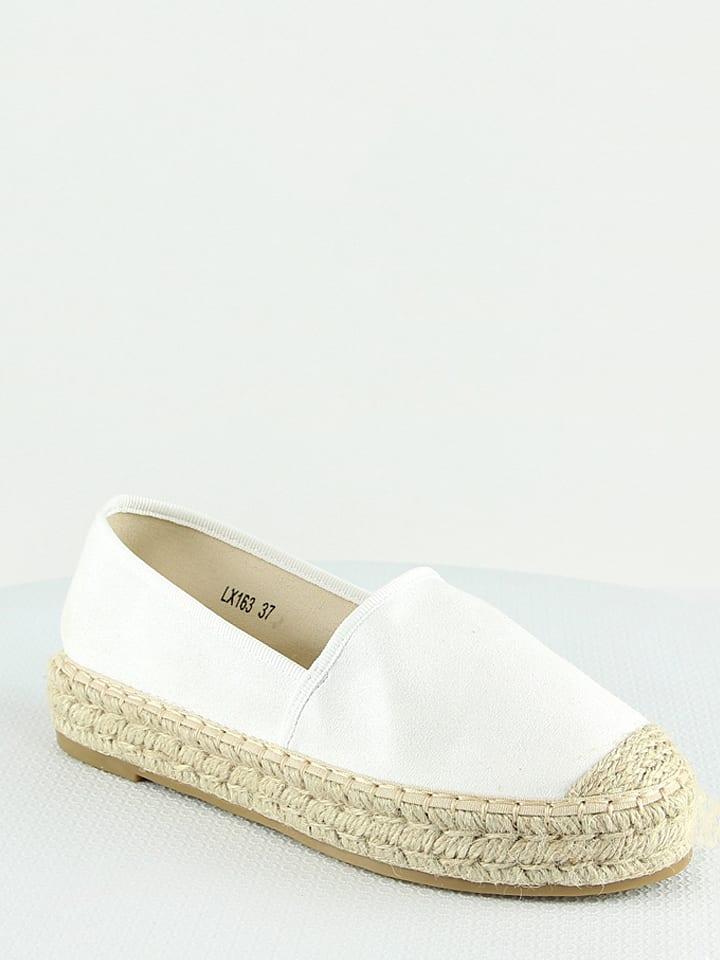 Foreverfolie Espadrilles - blanc