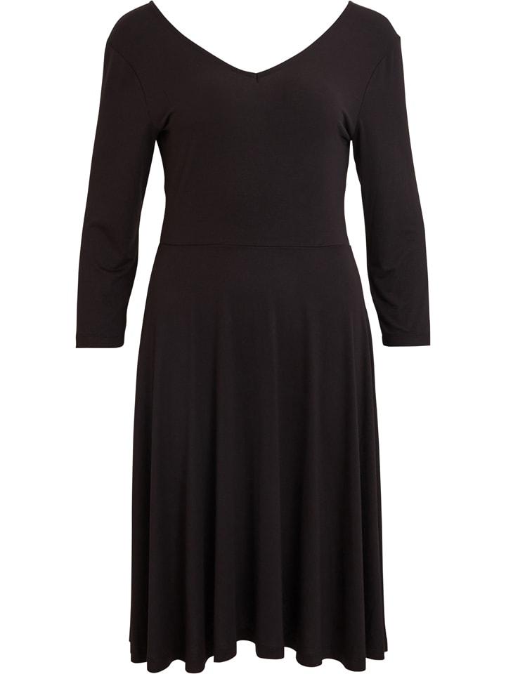 Object Sukienka w kolorze czarnym