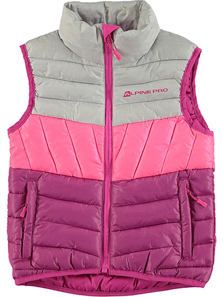 """Alpine Pro Kamizelka """"Kapeto"""" w kolorze różowym"""