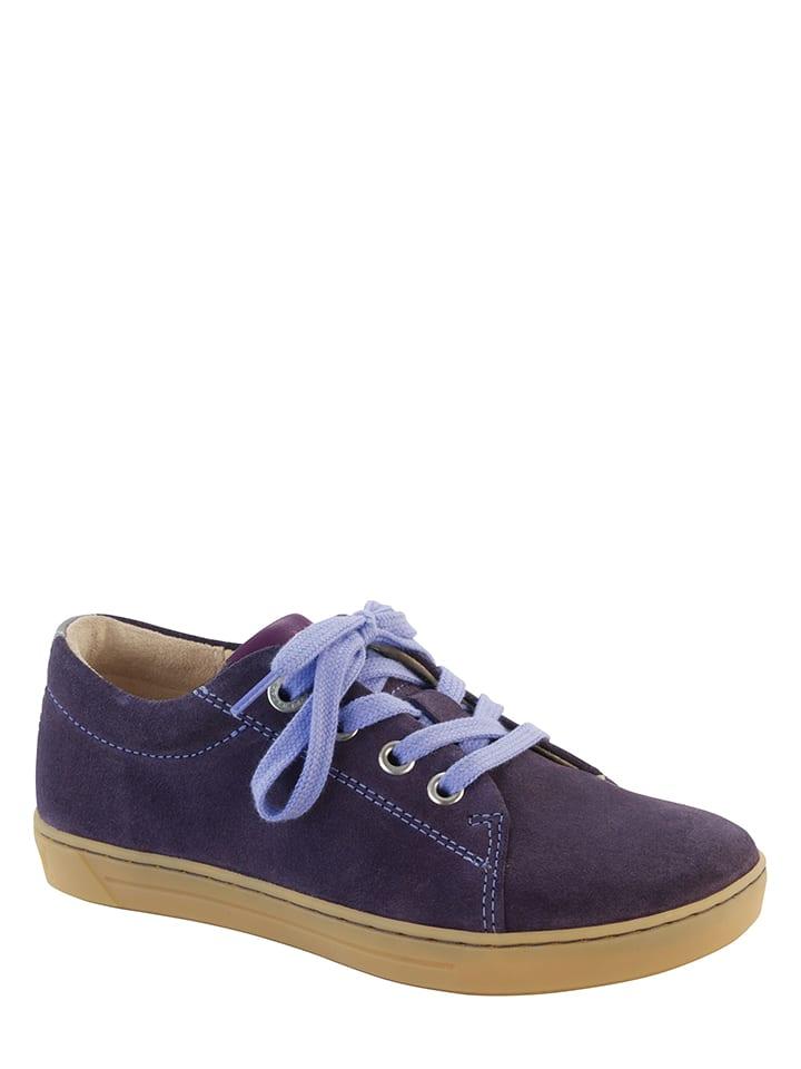 """Birkenstock Leder-Sneakers """"Arran"""" in Lila - Weite N"""