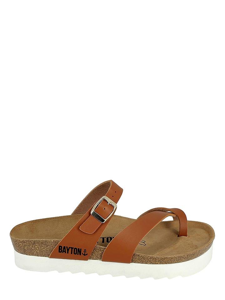 BAYTON - Sandales à bride - marron clair   Outlet limango 33098a36bbc8