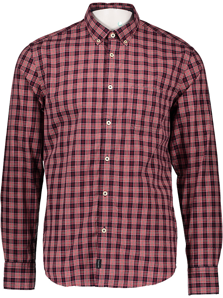 Marc O'Polo Chemise - regular fit - rouge