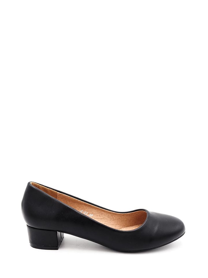 Girlhood Pumps in Schwarz