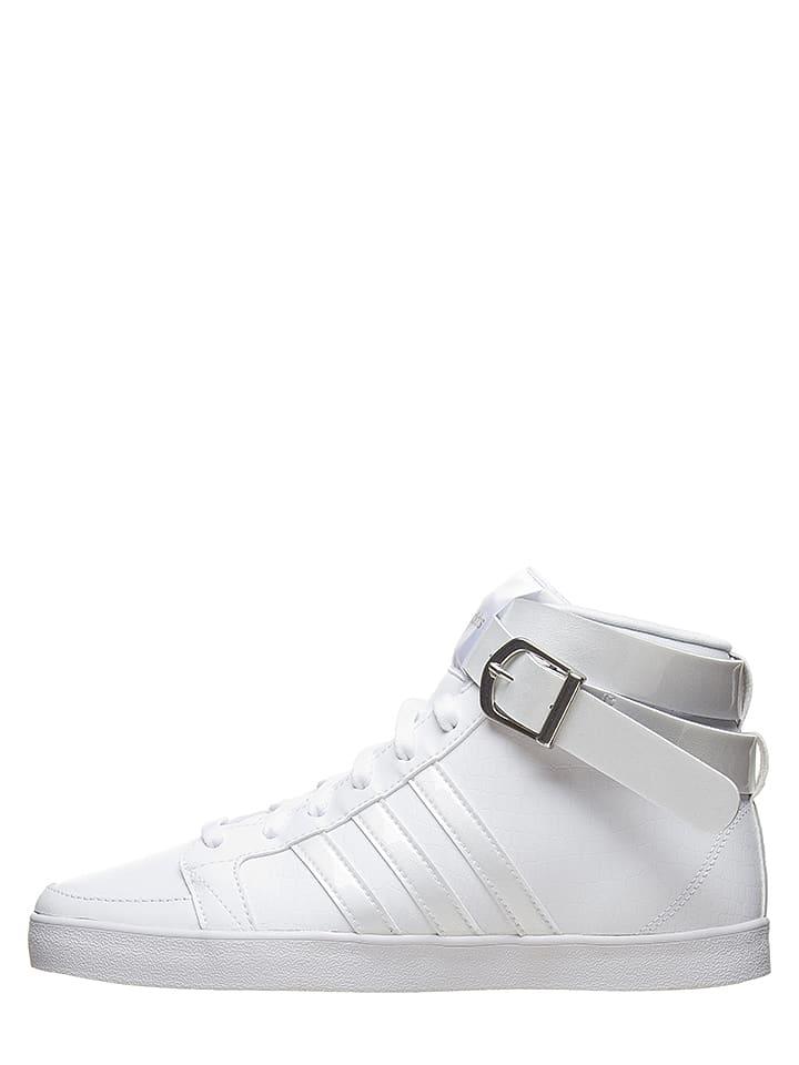 """Adidas Baskets en cuir """"Daily Twist LX Mid"""" - blanc"""