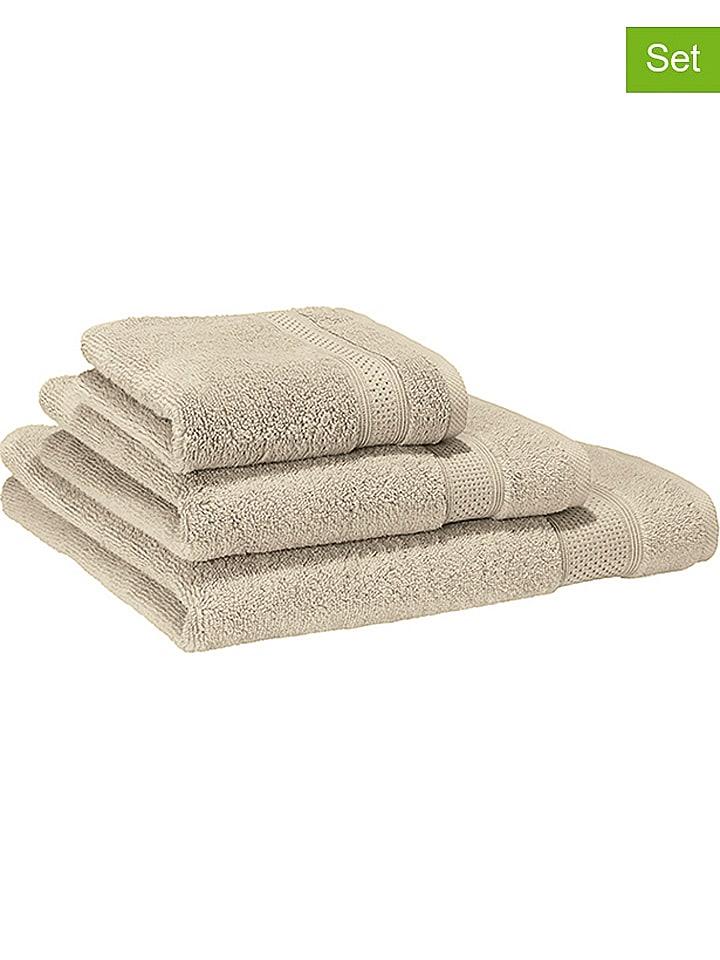 """Villeroy & Boch Ręczniki (2 szt.) """"Pure'' w kolorze piaskowym do rąk"""