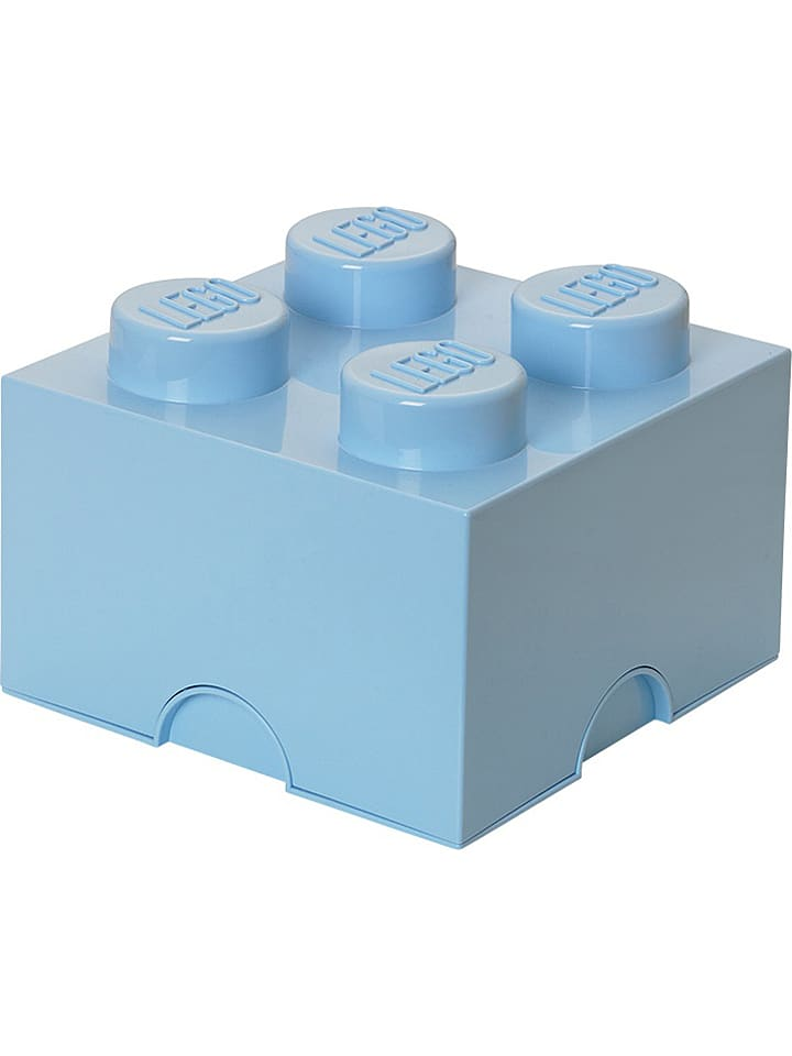 "LEGO Opbergbox ""Brick 4"" blauw - (B)25 x (H)18 x (D)25 cm"
