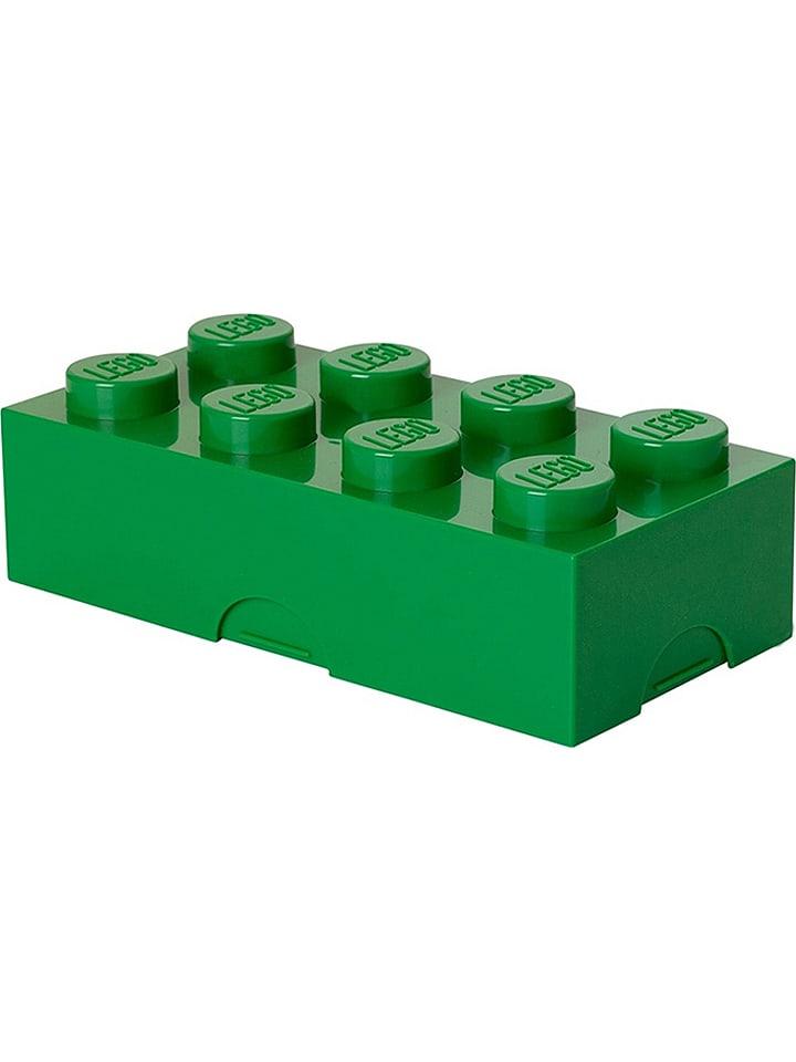 "LEGO Lunchbox ""Classic Brick 8"" in Grün - (B)20 x (H)7,3 x (T)10 cm"