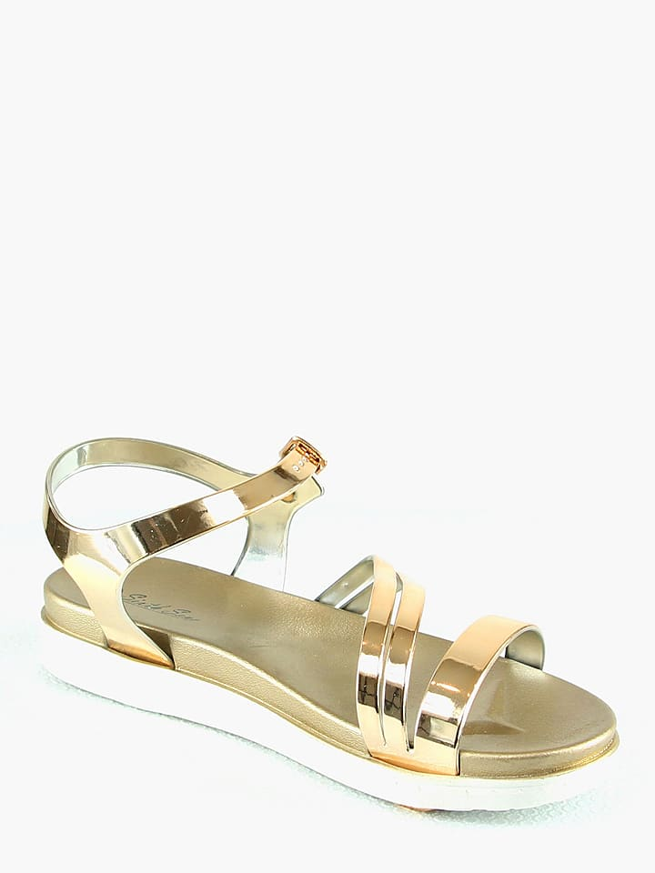 Sixth Sens Sandalen in Gold