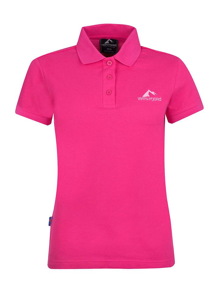 """Westfjord Poloshirt """"Hekla"""" roze"""