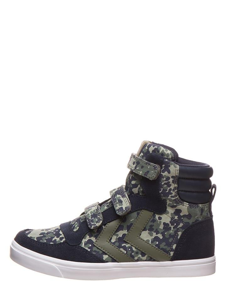 Hummel Sneakersy w kolorze granatowo-oliwkowym