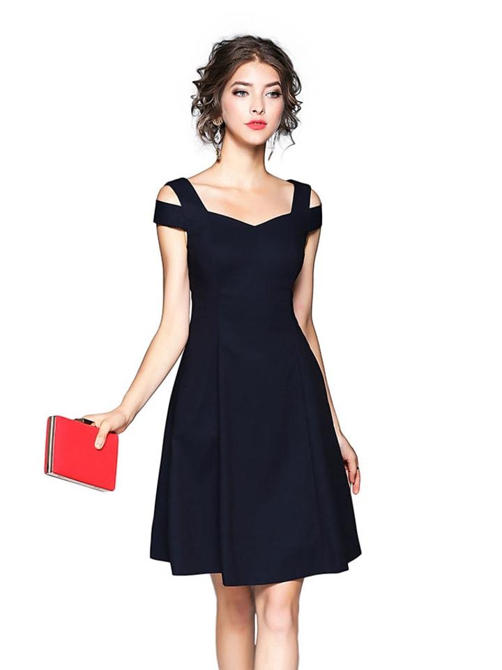 Kaimilan Sukienka w kolorze granatowym