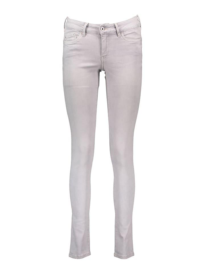 """Pepe Jeans Dżinsy """"Pixie"""" - Slim fit - w kolorze jasnoszarym"""