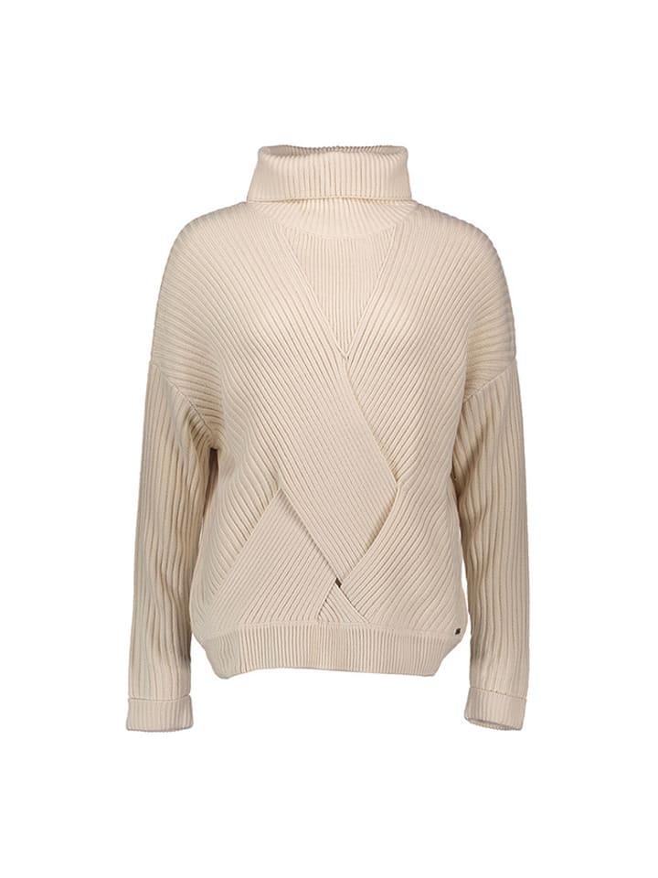 Pepe Jeans Sweter w kolorze kremowym