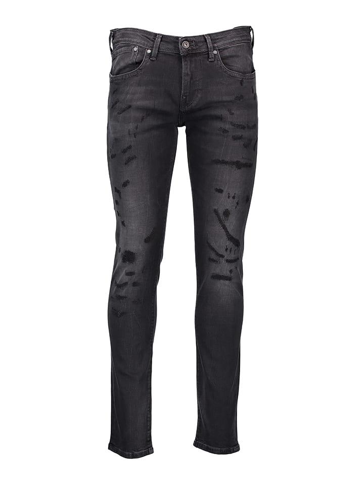 """Pepe Jeans Dżinsy """"Hatch"""" - Slim fit - w kolorze antracytowym"""