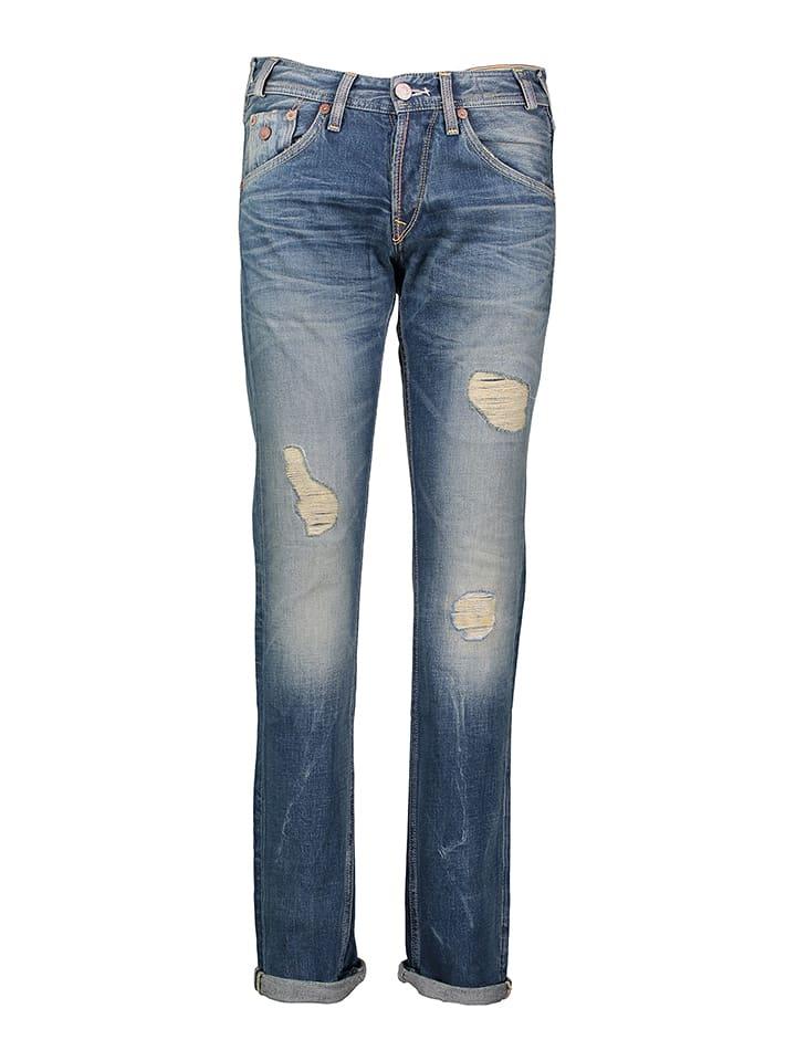 """Pepe Jeans Dżinsy """"Marshall"""" - Slim fit - w kolorze niebieskim"""