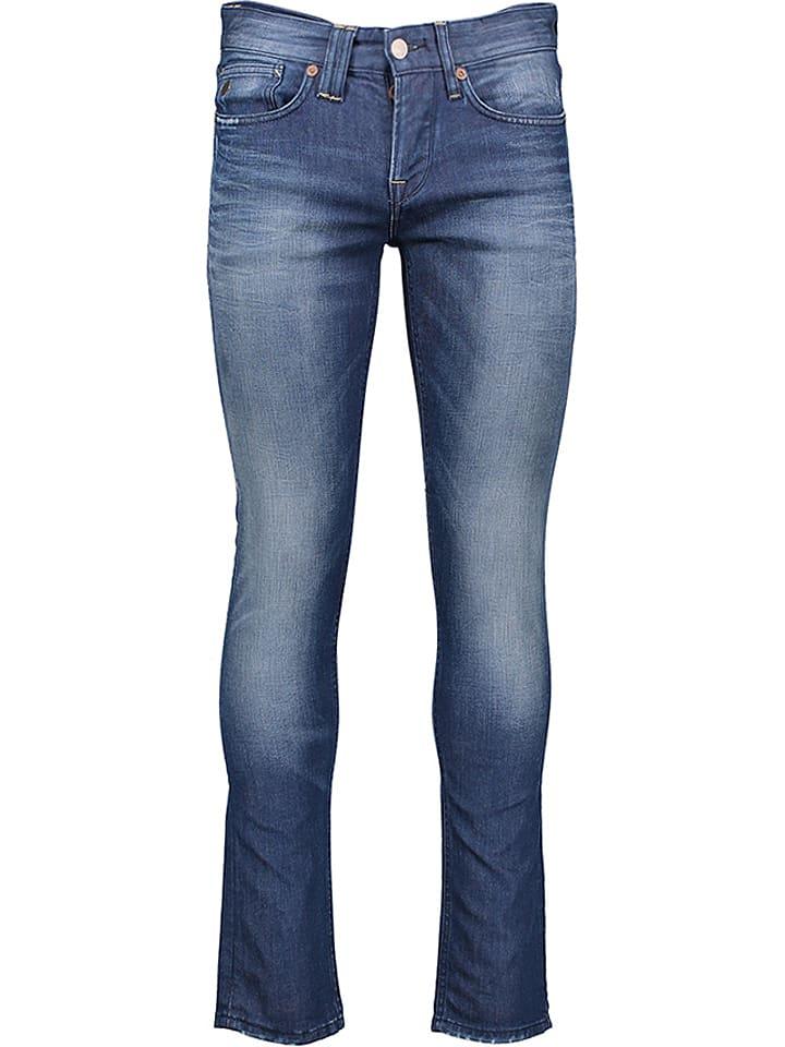 """Pepe Jeans Dżinsy """"Hatton"""" - Slim fit - w kolorze niebieskim"""