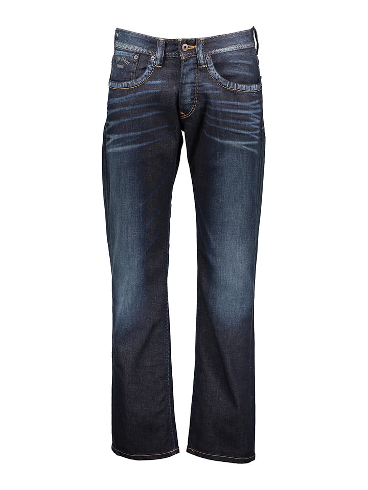 "Pepe Jeans Dżinsy ""Kingston"" - Regular fit - w kolorze granatowym"