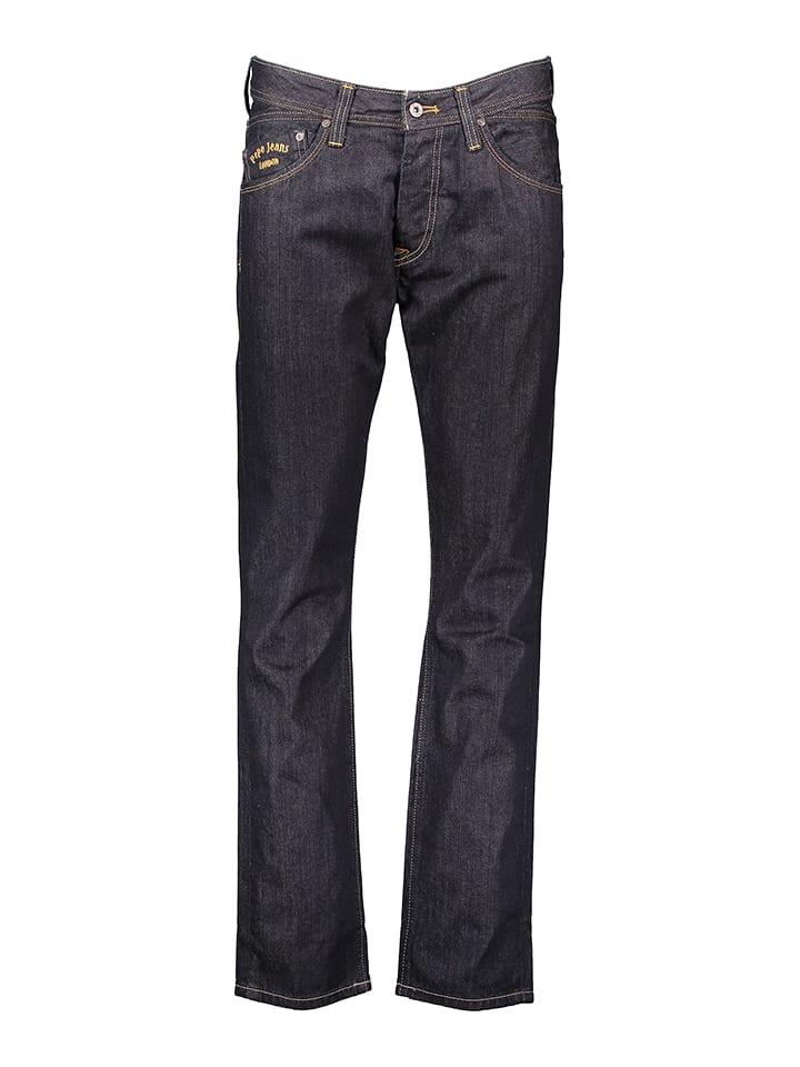 "Pepe Jeans Dżinsy ""Lloyd"" - Regular fit - w kolorze granatowym"