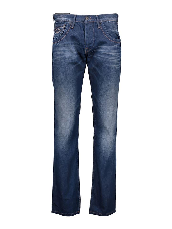 Pepe Jeans Dżinsy - Regular fit - w kolorze granatowym
